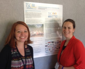 Katie Smith from TS Alliance and Clare Stuart from ATSS